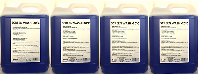 Showtime Concentrated Screen Wash for Winter Arctic 4x5L = 20 Litres - OFFER !!