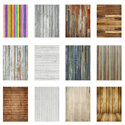 Retro Vintage Wood Plank Photography Backdrop Studio Floor Wall Photo Background