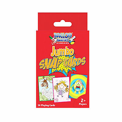 Jumbo Snap Playing Cards Childrens' Game Cards