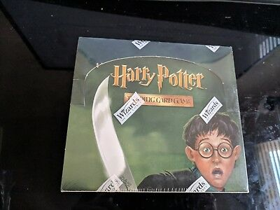 New Sealed Harry Potter Trading Card Game Chamber of Secrets BOOSTER BOX