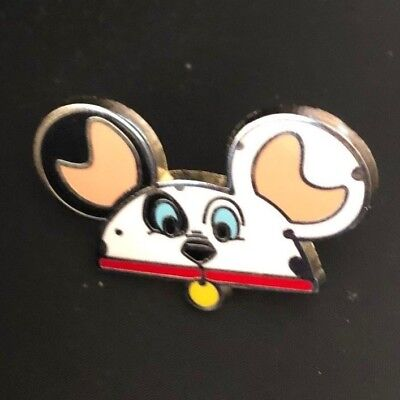disney trading pin Mickey mouse ears 101 Dalmations puppy dog patch vintage used