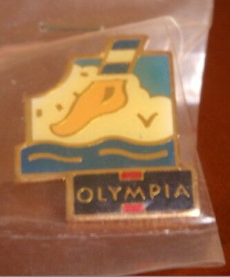 Pin's chaussette Olympia NEUF