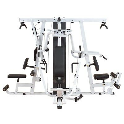 Body-Solid EXM4000S Triple Stack Multi-Station Commercial & Home Gym