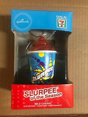 Hallmark 7 Eleven 2018 Exclusive Slurpee Christmas Ornament