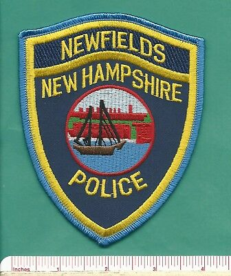 Newfields NH State New Hampshire Law Enforcement Police Patch  Rockingham County