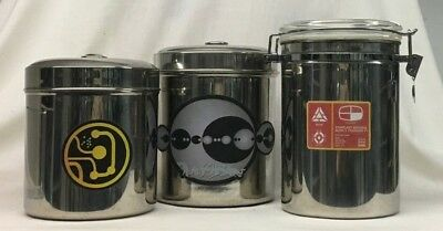 Star Trek, ENTERPRISE, Dr Phlox Infirmary MEDICAL CONTAINERS (3), Prop Replica