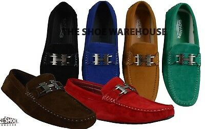 a5bda29a5d9 MEN'S GIOVANNI MOCCASIN Loafer Casual Formal Slip-On Dress Shoes 9513  Italian