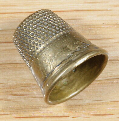 Vintage Gold Fill Thimble Size 3 620-33