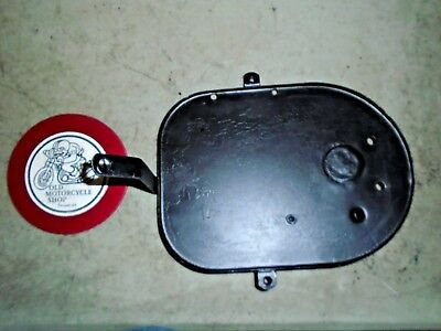 Norton Commando Air Cleaner Back Plate Oem 06-2799
