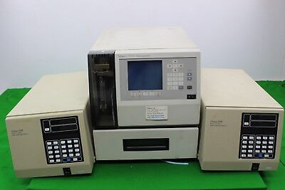 2 Waters 490E Programmable Multiwavelength Detectors & A Waters Autosampler 717