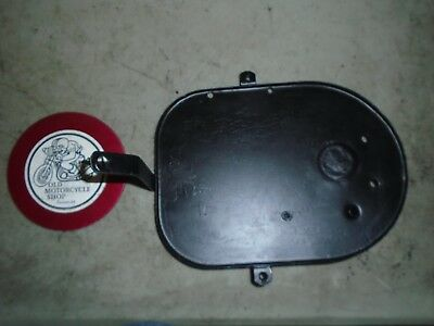 Norton Commando Air Cleaner Backplate Oem 062799