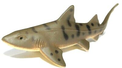 Realistic Beautifully Detailed Hand Painted Horn Shark Plastic PVC Figure