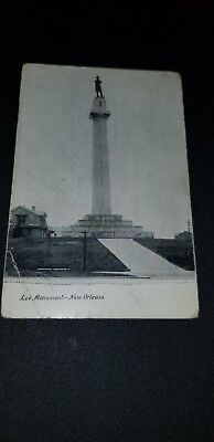 Postcard Lee Monument New Orleans Louisianna Picture unused