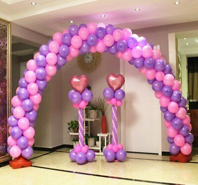 2X Balloon Stands + 1X Arch Frame Column Builder Birthday Wedding Decoration Set