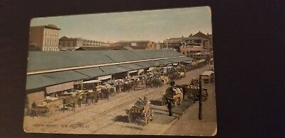 Postcard French Market New Orleans Louisiana Photo Card F.M. Kirby