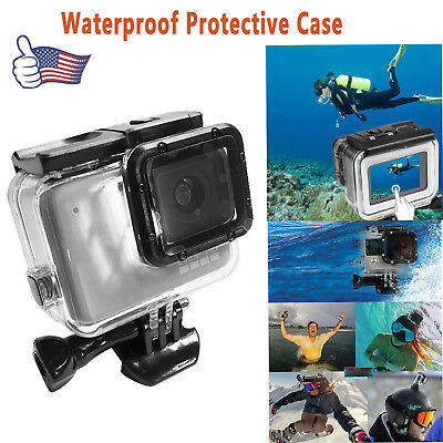 For GoPro Hero 7 Underwater Waterproof Protective Housing Case Touch Back Cover