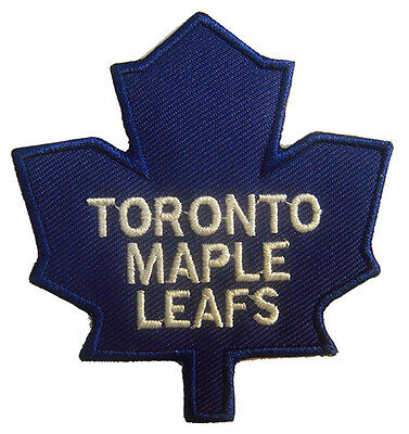 New Toronto Maple Leafs NHL Logo embroidered iron on or sew on patch. (IB31)
