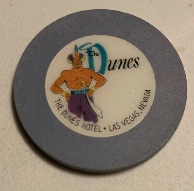 RARE THE DUNES HOTEL NCV Casino Chip Las Vegas Nevada 2.99 Shipping