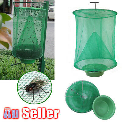 Reusable Hanging Fly Catcher Killer Pest Kill Control Flytrap Net Trap Tools
