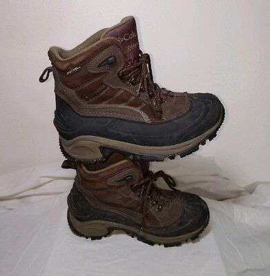 07e18ac4eef MENS COLUMBIA WINTER Boots 200 G Insulated Snow Boots Waterproof Size 7  Brown