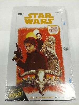 2018 Topps Solo: A Star Wars Story Factory Sealed Hobby Box
