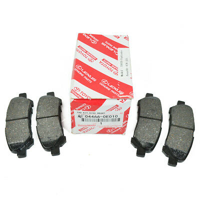 New Genuine Rear Brake Pad For 2008-2013 TOYOTA HIGHLANDER / HV 04466-AZ105 USA