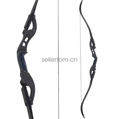 "Black 62"" ILF Archery American Hunting Right Hand Takedown Recurve Bow Target"