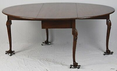 Kittinger Williamsburg Dining Table CW117 Gate Leg Table Queen Anne George III