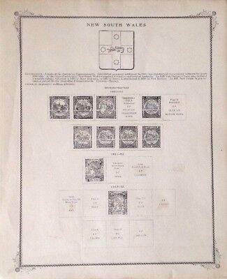 New South Wales State 9 Illustrated Pages