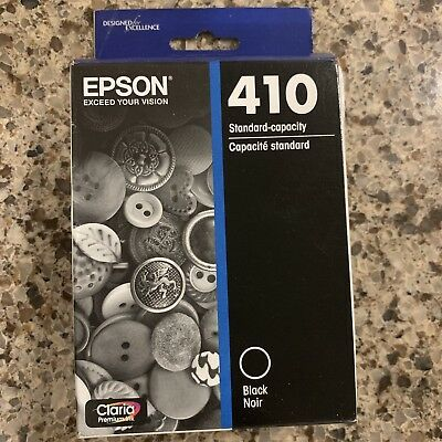Epson Model 410 Black Standard Capacity Ink Cartridge Exp. 04/2021