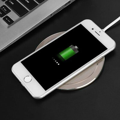 Qi Wireless Fast Charger Charging Pad 10W For iPhone 8 8Plus SE X XS XR XS Max