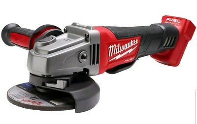 "New Milwaukee 18V Fuel Cordless Brushless Angle Grinder 125mm - 5""  M18CAG125XPD"