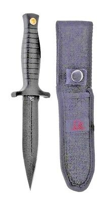 """Falcon 8.75"""" Boot Knife With Boot Clip Sheath  -  KC1325BK"""