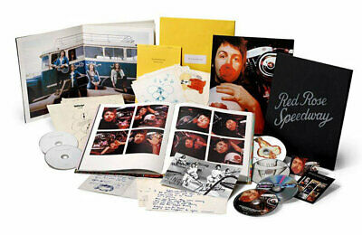 Paul McCartney Red Rose Speedway super deluxe 3CD / DVD / Blu-ray box set NEW/SE