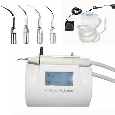 Touch Dental Ultrasonic Piezo Scaler Scaling Handpiece Teeth Clearing Fit EMS US