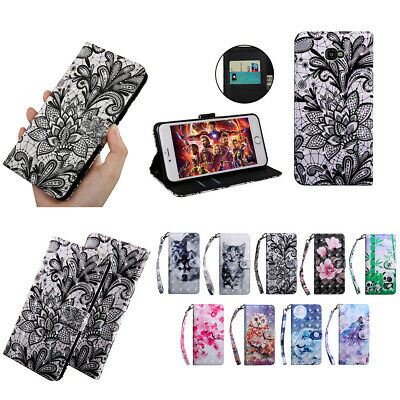 Wallet Case Stand Cover for Samsung J2 Pro J4+ J6+ M10 A10 A20 A40 A50 A70 2019