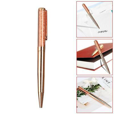 1pc Metal Sign Pen Ink Durable Ballpoint  Smooth Writing School Supplys