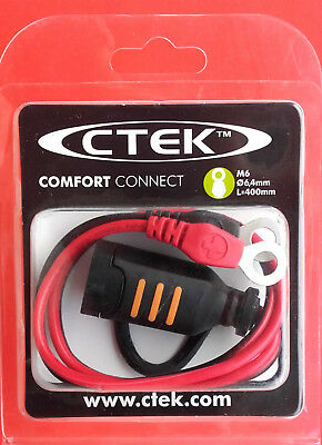 CTEK 56260 Comfort Connect Eyelet M6 Diameter 6.4mm Length 400mm