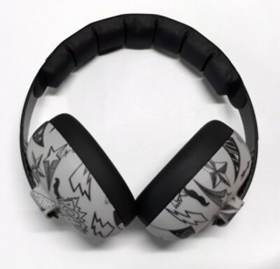 Baby Banz NEW Kids Mini Ear Defenders Graffiti BNWT