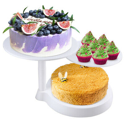 12 inch Aluminum Cake Turntable Rotating Baking Cake Decorating Display Stand