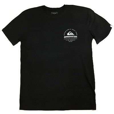 Quiksilver Boardmasters T-Shirt - Black - Mens T-Shirts