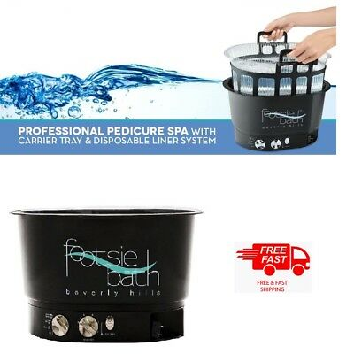 Footsie Bath Of Beverly Hills Pedicure (Black) - Fast & Free