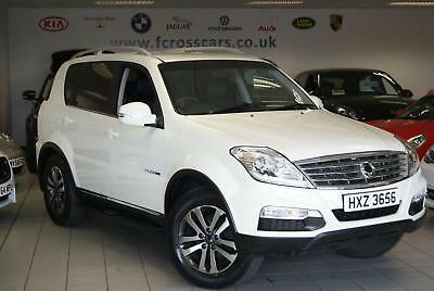 2015 Ssangyong Rexton Exclusiv A/c Low Mileage Full Service History 4X4 Diesel