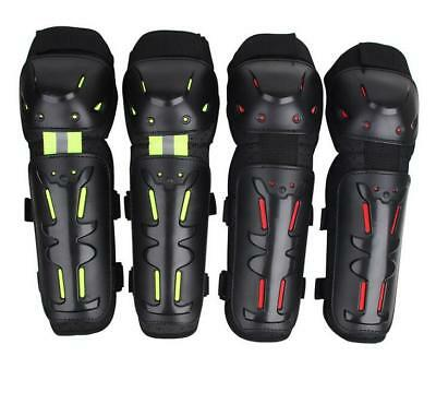 Motorcycle Elbow Knee Pads Brace Off-road Protector Gear Shin Guard Adult Kids