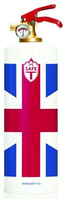 DNC-TAG Safe-T Feuerlöscher, Design UK UNITED KINGDOM UNION JACK