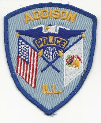 Addison ILLINOIS IL Police patch OLD