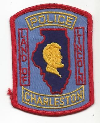 Charleston Charles ILLINOIS IL Police OLD patch