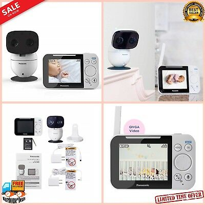 2 Way Talk Digital Home Baby Monitor Night Vision microphones Video Audio Camera