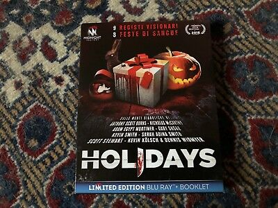 Holidays - LTD Edition + Booklet - Midnight Factory - Blu Ray Come nuovo