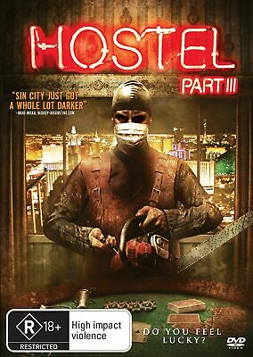 Hostel Part III DVD Region 4 NEW